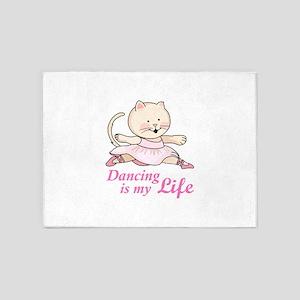 DANCING IS MY LIFE 5'x7'Area Rug