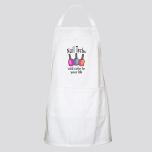 NAIL TECHS ADD COLOR Apron