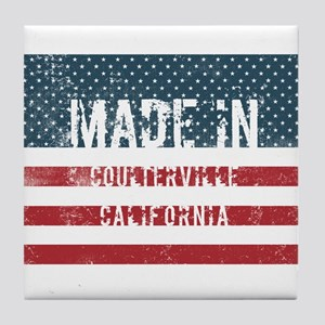 Made in Coulterville, California Tile Coaster