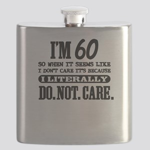 60 & Do Not Care Flask