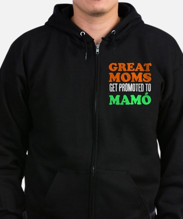 Great Moms Promoted Mamo Zip Hoodie
