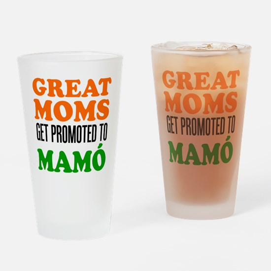 Promoted To Mamo Drinkware Drinking Glass