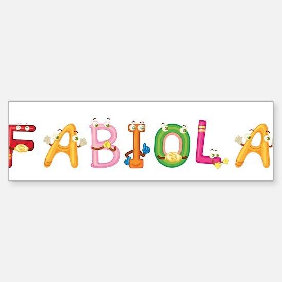 Fabiola Bumper Bumper Bumper Sticker