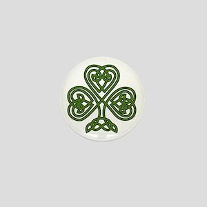 Celtic Shamrock - St Patricks Day Mini Button