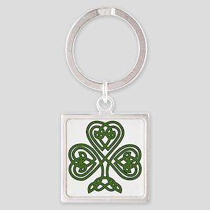 Celtic Shamrock - St Patricks Day Keychains