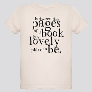 Between the Pages Organic Kids T-Shirt