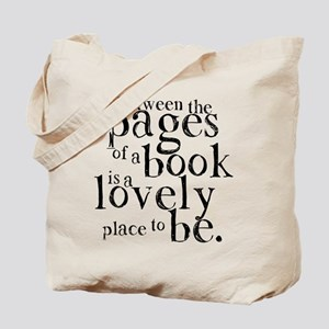 Between the Pages Tote Bag