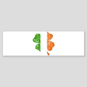 Irish St Patricks Day Shamrock - Wa Bumper Sticker