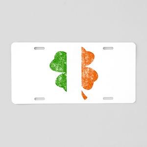 Irish St Patricks Day Shamr Aluminum License Plate