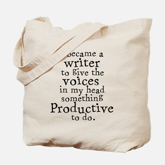 Something Productive Tote Bag