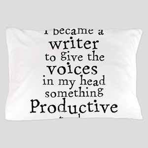 Something Productive Pillow Case