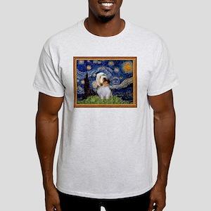 Starry Night PBGV Light T-Shirt