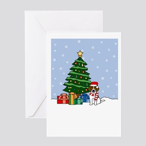 Beagle Merry Christmas Greeting Card