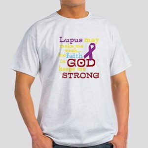 God Strong Light T-Shirt