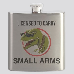 T-Rex licensed to carry small arms Flask