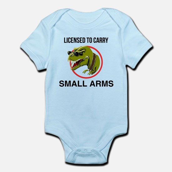 T-Rex licensed to carry small arms Body Suit
