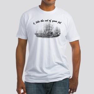 Cut of Your Jib - Fitted T-Shirt