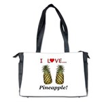 I Love Pineapple Diaper Bag