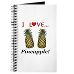I Love Pineapple Journal