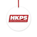 HKPS Logo Ornament (Round)