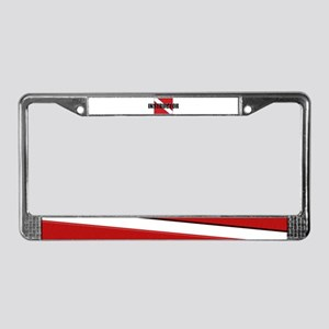 Instructor Diver License Plate Frame