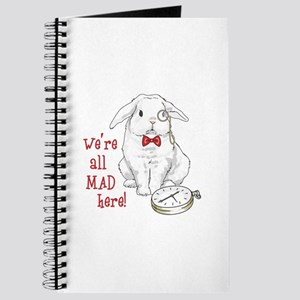 WERE ALL MAD HERE Journal