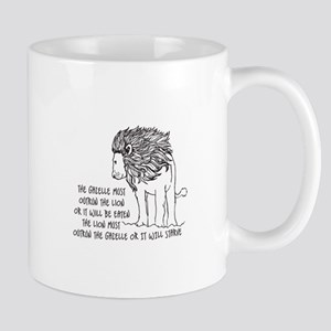 The Galelle Most Outrod The Lion Mugs