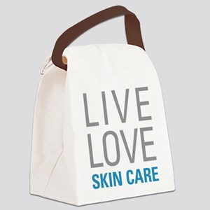 Skin Care Canvas Lunch Bag