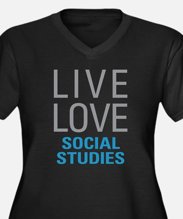 Social Studies Plus Size T-Shirt