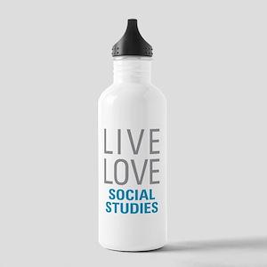 Social Studies Stainless Water Bottle 1.0L