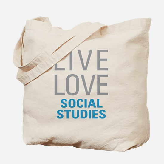 Social Studies Tote Bag