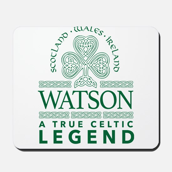 Watson, A True Celtic Legend Mousepad