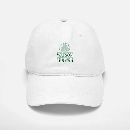 Watson, A True Celtic Legend Baseball Baseball Cap