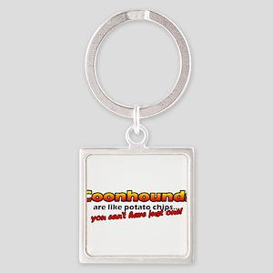 potatochips_coonhound Keychains