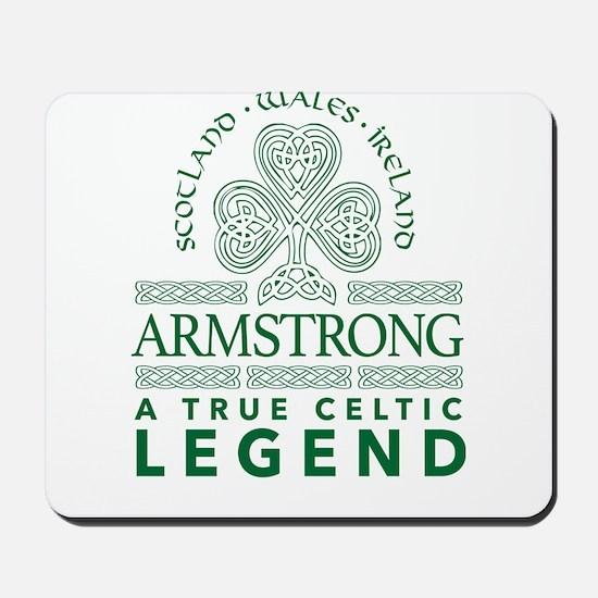 Armstrong, A True Celtic Legend Mousepad