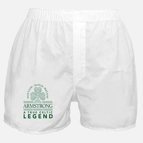 Armstrong, A True Celtic Legend Boxer Shorts