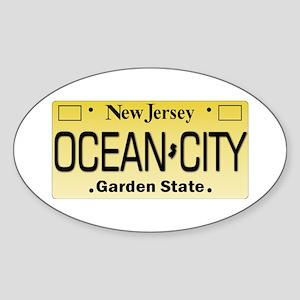 Ocean City NJ Tag Giftware Sticker