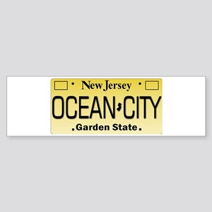 Ocean City NJ Tag Giftware Bumper Sticker