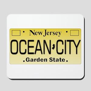 Ocean City NJ Tag Giftware Mousepad