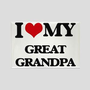I love my Great Grandpa Magnets