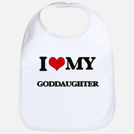 I love my Goddaughter Bib