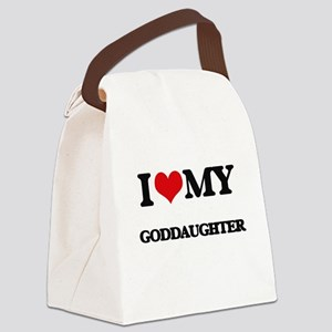 I love my Goddaughter Canvas Lunch Bag