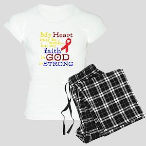 God Strong Women's Light Pajamas