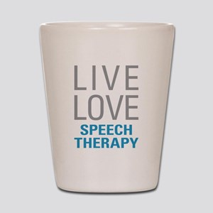 Speech Therapy Shot Glass