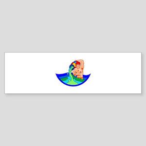 WATER BEARER Bumper Sticker