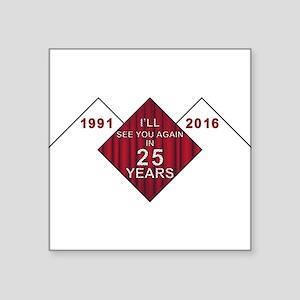 Twin Peaks 25 Years Later Sticker
