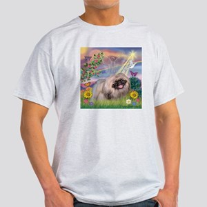 Cloud Angel Pekingese (R) Light T-Shirt