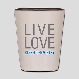 Stereochemistry Shot Glass