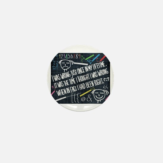 philosophy of life Mini Button
