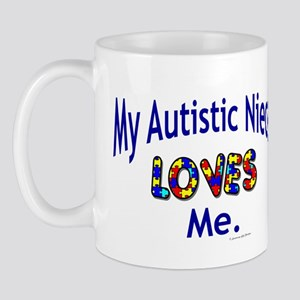 My Autistic Niece Loves Me Mug